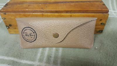 Vintage Sunglasses CASE-RAY BAN Bausch & Lomb