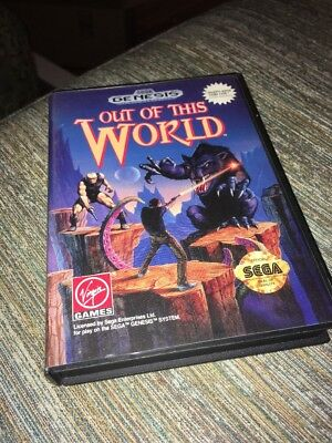 Out of This World (Sega Genesis, 1994) in Box