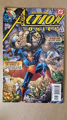 Action Comics #814 (DC Comics) DF Variant Signed by Chuck Austen 637/1000 ~ FN