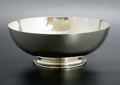 Arts & Crafts Hand Hammered Old Newbury Crafters Sterling Silver Bowl