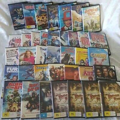 Family Movie Pack 38 x DVDs Gremlins, Adventures of the Young Indiana Jones,Toys