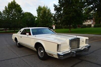 1978 Lincoln Mark V Mark V BEAUTIFUL PAMPERED SURVIVOR 1978 LINCOLN CONTINENTAL MARK V COUPE