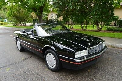 1991 Cadillac Allante Roadster BEAUTIFUL EXTREMELY RARE 48K ACTUAL MILES 1991 CADILLAC ALLANTE ROADSTER NICE !!