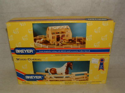 Breyer Accessories  ( 2 ) #  7500 Wood Corral Mint In Boxes