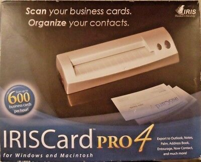 Iriscard business card scanner reader iris card mini 4 portable iriscard business card scanner reader iris card pro 4 with cable reheart Image collections