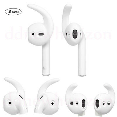 3 Pairs Soft EarHooks Cover for Apple AirPods Ear Buds Hook Ear Tips Ear pads UK