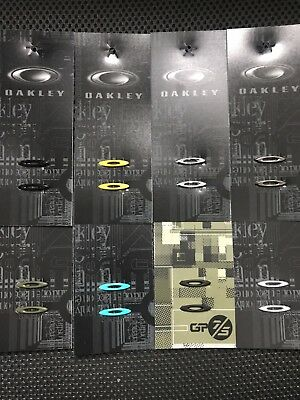 New 8 pairs Authentic Oakley Racing Jacket Icon Replacement (Multi color)