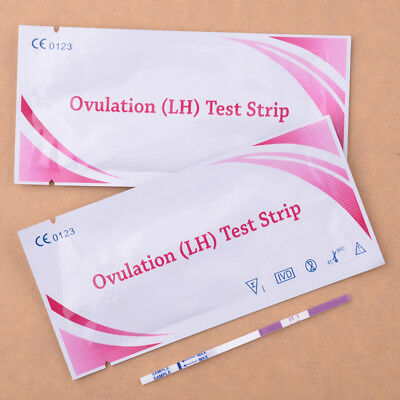 20Pcs Women LH Ovulation Test Paper Strip Urine Predictor Fertility Kit
