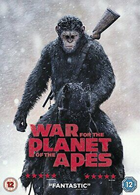 War for the Planet of the Apes [DVD] [2017] - DVD  CXVG The Cheap Fast Free Post