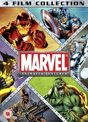 Marvel Animation - 4 Film Collection [DVD] - DVD  RQVG The Cheap Fast Free Post