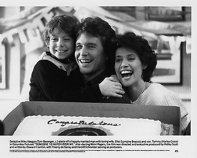 TOM BERENGER LORRAINE BRACO TRAQUEE Someone to Watch Over Me 1987 VINTAGE PHOTO