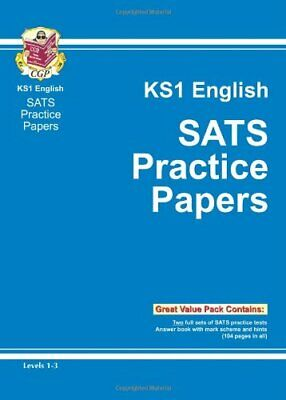 KS1 English SATs Practice Papers - Levels 1-3: Practic... by CGP Books Paperback