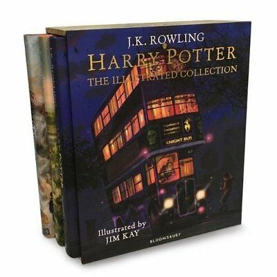 Harry Potter - The Illustrated Collection: Three Magica