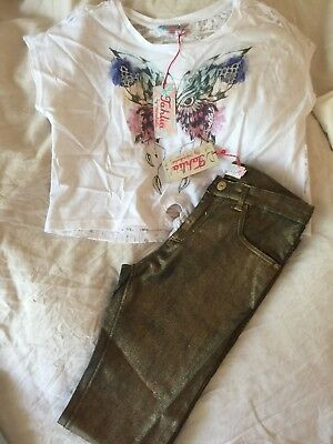 Girls NWT Tahlia Jeans And Top - Size 12
