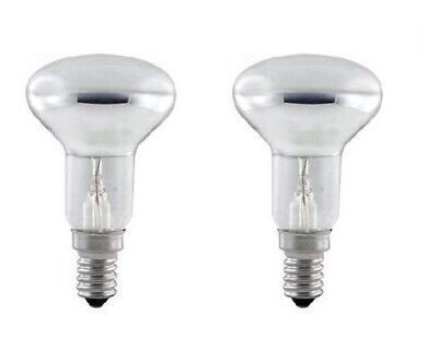 2 x Lava Lamp SES E14 R39 Reflector 25W Spotlight Screw in Spot Light Bulbs