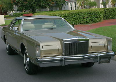 1979 Lincoln Mark Series MARK V - 42K MILES LOW MILE MOONROOF SURVIVOR - 1979 Lincoln Mark V Coupe-  42K ORIG MI
