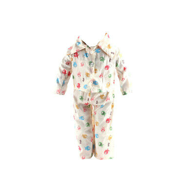 """Fishes Printed Pajamas Clothes fit 18"""" American Girl & Our Generation Doll"""