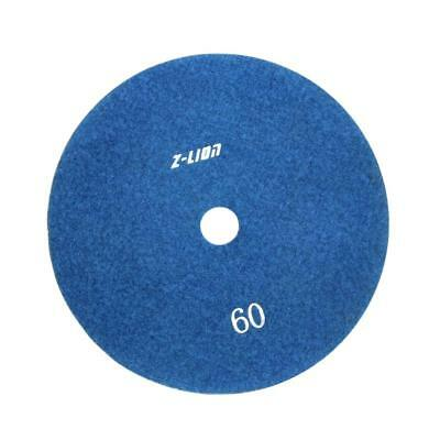 80mm Electroplated Diamond Dry Wet Polishing Pad /Buffing Pad 60 Grit