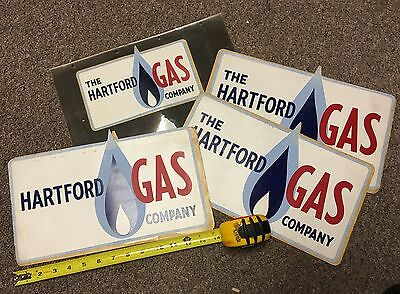 Hartford Gas Company New Vintage Truck/ Equipment  Decals/Stickers