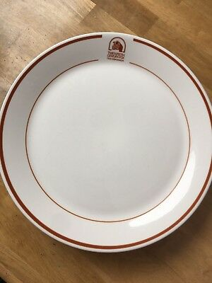 1981 Vintage 20TH CENTURY FOX Commissary DINNER PLATE Movie Studio SYRACUSE