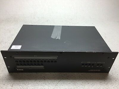 Extron Crosspoint XPT300 88 HVA Wideband Matrix Switcher with ADSP, Pulled, Fair