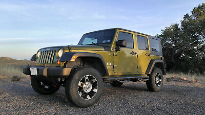 2007 Jeep Wrangler Unlimited X 2007 Jeep Wrangler Unlimited X - 4x4, 4WD, Automatic, Hardtop