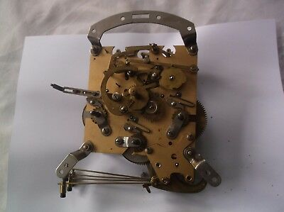 4 Hammer 4X4 Mechanism  From An  Old Smiths  Mantle Clock  Spares/repair