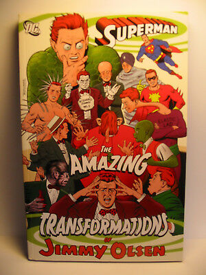 Superman. The Amazing Transformations of Jimmy Olsen DC Paperback used