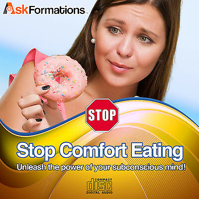 Stop Comfort Eating Subliminal Hypnosis CD Weight Loss for Better Body Health
