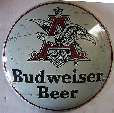 Budweiser Beer Dome (metal sign)