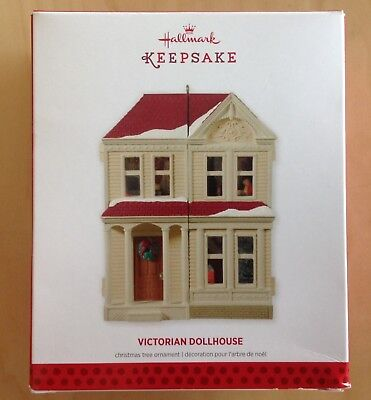"2013 Hallmark Christmas Ornament Signed Don Palmiter ""Victorian Dollhouse"""