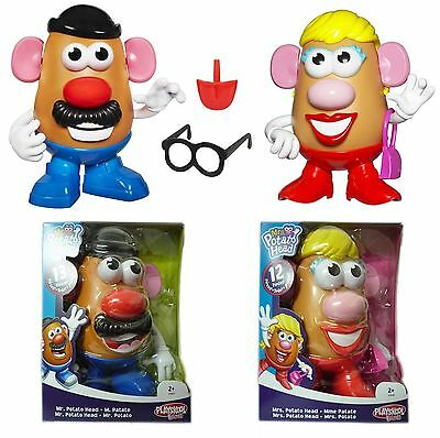 Mr Potato Head OR Mrs Potato Head Toy Fun Heads With 12 Pieces Accessories NEW