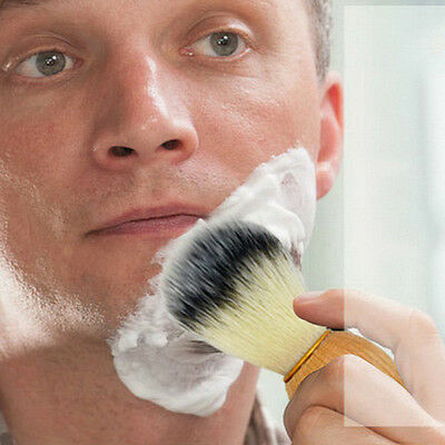 Pure Badger Hair Removal Beard Shaving Brush For Mens Shave Tools Cosmetic JX