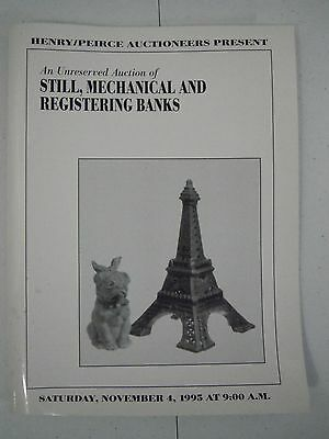 Still, Mechanical and Registering Banks Auction Catalog 1995 w/Realized Prices
