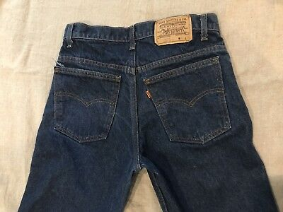 Vintage Orange Tab Levis 509 USA 30/30
