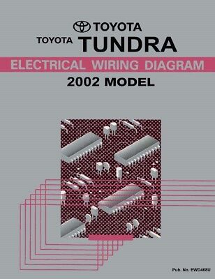 2002 Toyota Tundra Wiring Diagrams Schematics Layout Factory OEM