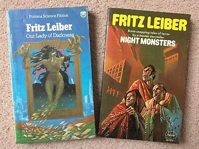 Fritz Leiber - Our Lady of Darkness & Night Monsters (Science Fiction & Horror)