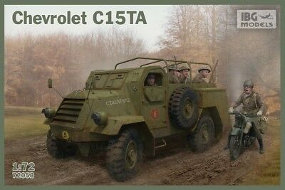 NEW! IBG 1/72 Chevrolet C15TA Armored Personnel Carrier