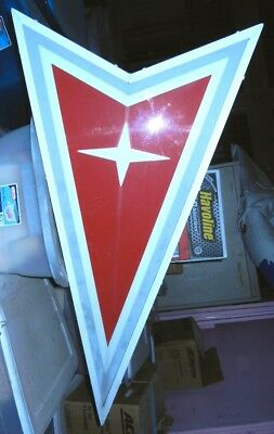 Gm Pontiac Arrow Head Dealership Lighted Sign