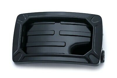 KuryakynBlack Nova Horizonal Side Mount License Plate Holder Harley / Metric