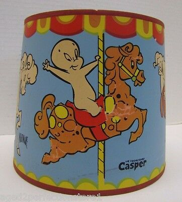 Original Old CASPER the FRIENDLY GHOST Lamp Shade Wendy Nightmare Ghostly Trio
