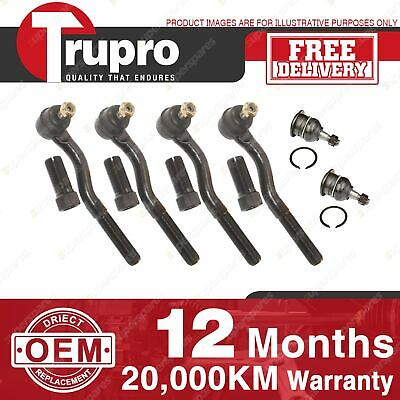 Trupro Ball Joint Tie Rod End Kit For MITSUBISHI CHALLENGER K96W K97W K99W 96-ON