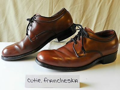 Vintage Leather Mason Shoes, Oxfords, Mens 7/ Womens 9, Made in USA