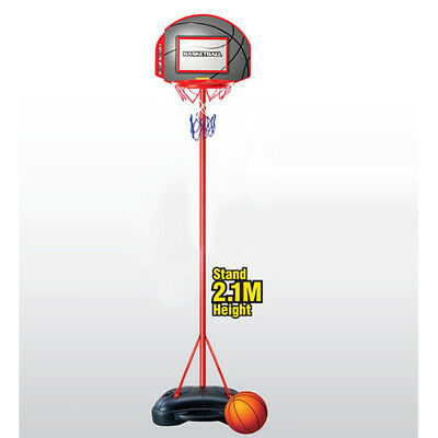 Basketball Hoop Portable Adjustable Junior Set 2.1M Kids Inc Basketball, Base