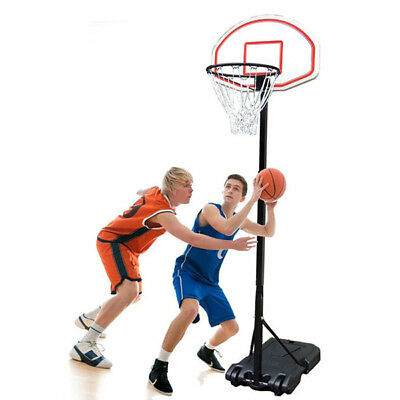 Basketball Hoop Portable Adjustable Basketball Stand System Hoop Net Ring