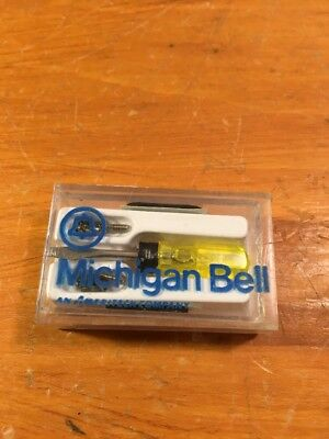 Vintage Michigan Bell Telephone Company Advertising Giveaway Glasses Repair Kit