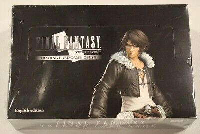 Final Fantasy Trading Card Game OPUS 2 II Booster Box New-Sealed