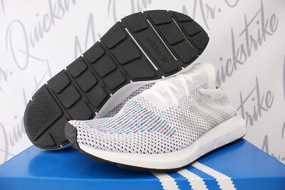 4e9c68e99ffb8 Adidas Swift Run Primeknit Sz 7-14 Running White Core Black Knit Pk Cg4126