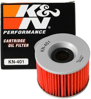 K and N KN-401 Motorcycle/Powersports High Performance Oil Filter