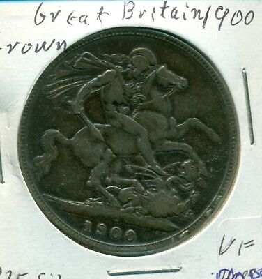 Great Britain 1900 Crown VF